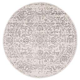 Safavieh Madison 6'7 x 6'7 Arya Area Rug in Silver