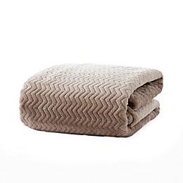 Bridgette Collective Jacquard Plush Throw Blanket