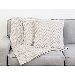 Thro By Marlo Lorenz Aiden 3-Piece Throw Blanket and PIllow Set