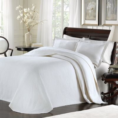 Lamont Home Majestic White Bedspread Bed Bath Amp Beyond