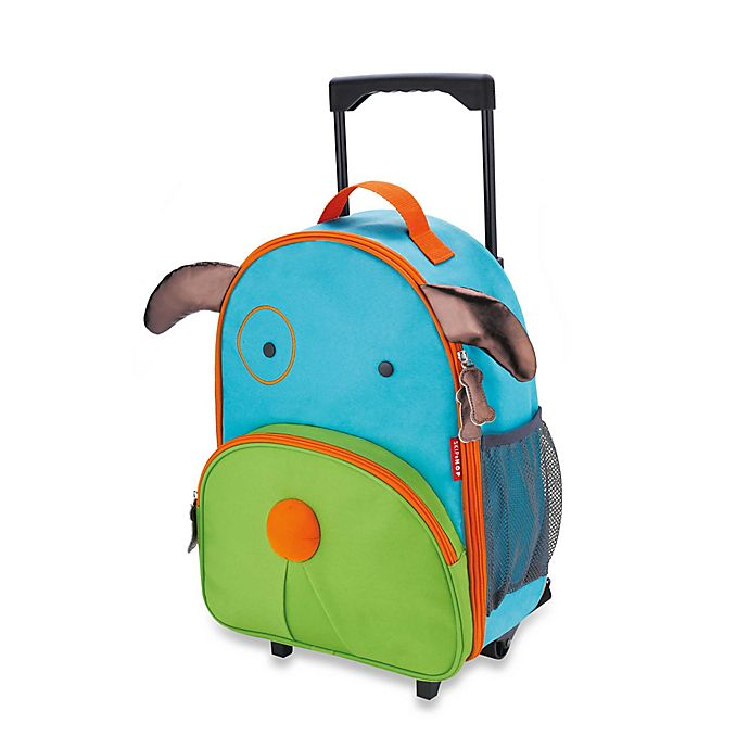 Alternate image 1 for SKIP*HOP® Zoo Little Kid Rolling Luggage in Dog