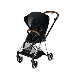 CYBEX Mios Stroller with Chrome/Brown Frame