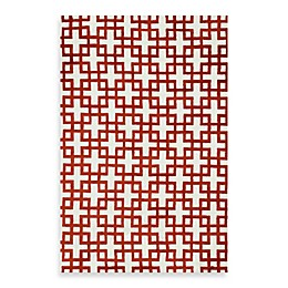 Loloi Rugs Charlotte Rug in Ivory/Rust