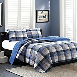 INK+IVY Maddox Reversible Quilt Set