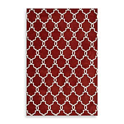 Loloi Rugs Charlotte 2'3 x 3'9 Accent Rug in Rust/Ivory