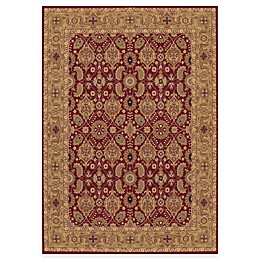 Couristan® Royal Kashimar All Over Vase Rug in Persian Red