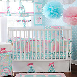 My Baby Sam Pixie Baby 3-Piece Crib Bedding Collection in Aqua