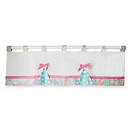 My Baby Sam Pixie Baby Window Valance in Aqua