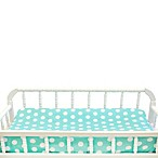 My Baby Sam Pixie Baby Changing Pad Cover in Aqua