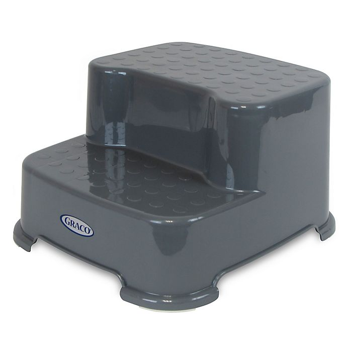 Graco 174 Transitions Step Stool In Pewter Grey Bed Bath
