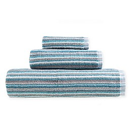 Fashion Value Multi Stripe Bath Towel Collection