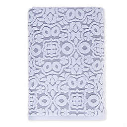 Fashion Value Medallion Bath Towel in Grey
