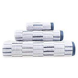 Fashion Value Herringbone Plaid Bath Towel Collection