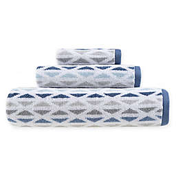 Fashion Value Geometric Tile Bath Towel Collection