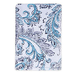 Fashion Value Paisley Bath Towel in Teal