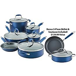 Anolon® Advanced™ Home Hard-Anodized Nonstick 11-Piece Cookware Set and Bonus Bundle