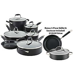 Anolon® Advanced™ Home Nonstick 11-Piece Cookware Set