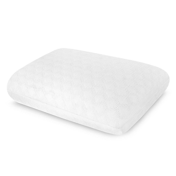Alternate image 1 for Therapedic® Classic Comfort Memory Foam Pillow in White