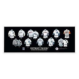 MLB Detroit Tigers Legacy Uniform Plaque