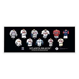 MLB Atlanta Braves Legacy Uniform Plaque