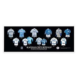 MLB Kansas City Royals Legacy Uniform Plaque