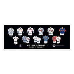 MLB Los Angeles Angels Legacy Uniform Plaque
