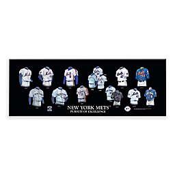 MLB New York Mets Legacy Uniform Plaque