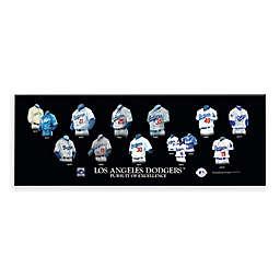 MLB Los Angeles Dodgers Legacy Uniform Plaque