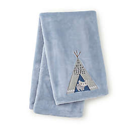 Levtex Baby® Trail Mix Blanket in Blue