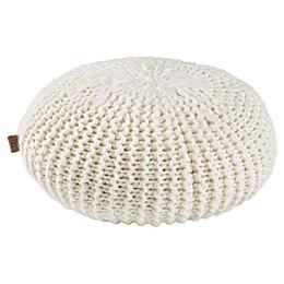 UGG® Mariposa Round Throw Pillow in Snow
