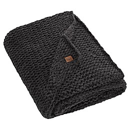 UGG® Dorian Reversible Heavyweight Throw Blanket in Black