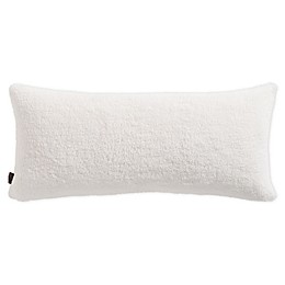 UGG® Sherpa Bolster Throw Pillow in Snow