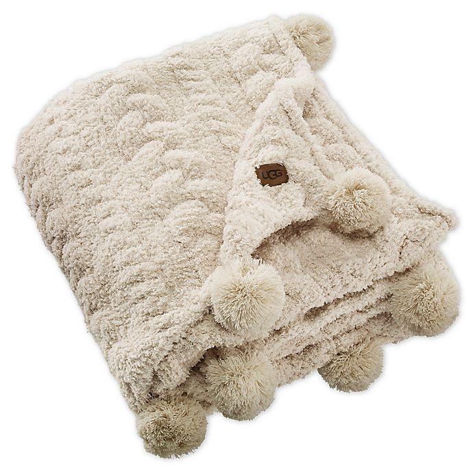 Alternate image 1 for UGG® Monroe Chenille Throw Blanket in Birch