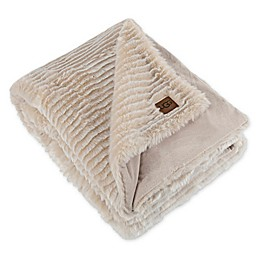 UGG® Lana Reversible Throw Blanket in Birch