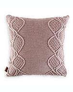 Cojín decorativo cuadrado UGG® Boulder en rosa