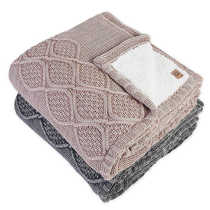 Alternate image 1 for UGG® Boulder Throw Blanket