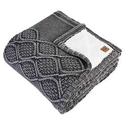 UGG® Boulder Throw Blanket in Charcoal