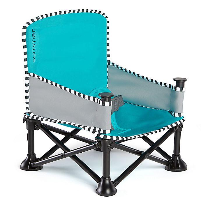 Alternate image 1 for Summer™ Pop 'n Sit® SE Booster in Aqua Sugar