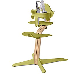 Nomi High Chair with White Oak Stem
