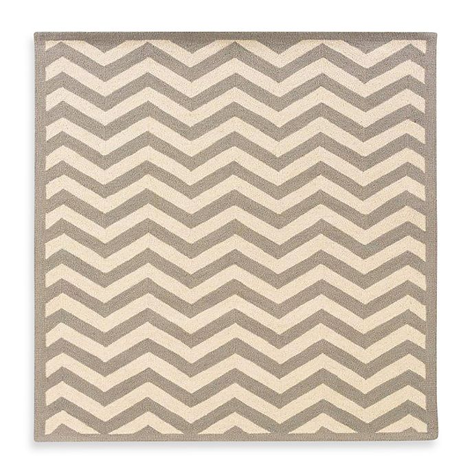Alternate image 1 for Linon Home Chevron Rug