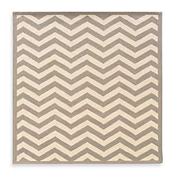Linon Home Chevron Rug
