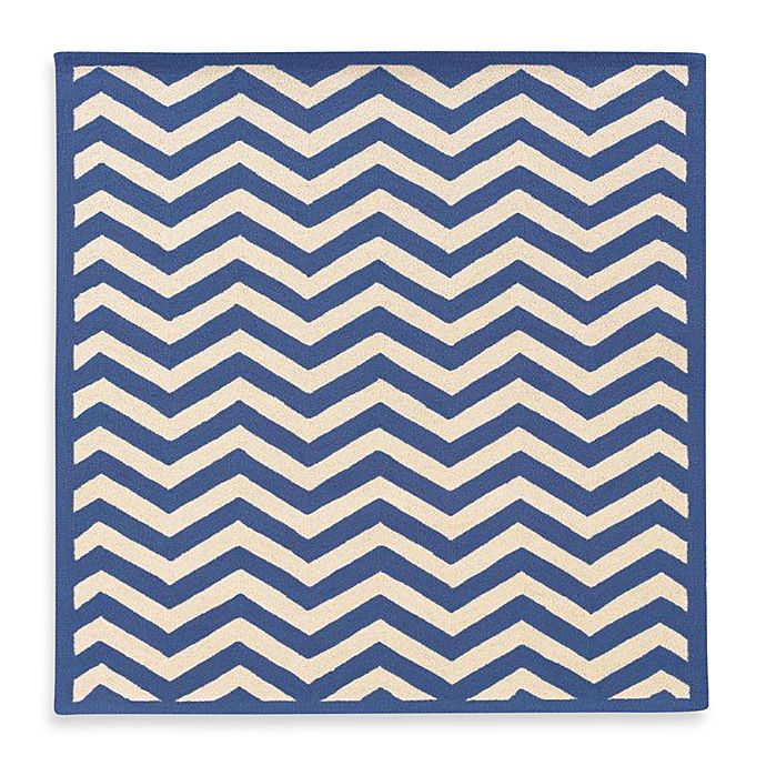 Alternate image 1 for Linon Home Silhouette Chevron Rugs