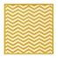 Part of the LinonHomeSilhouette Chevron Rugs in Yellow/White