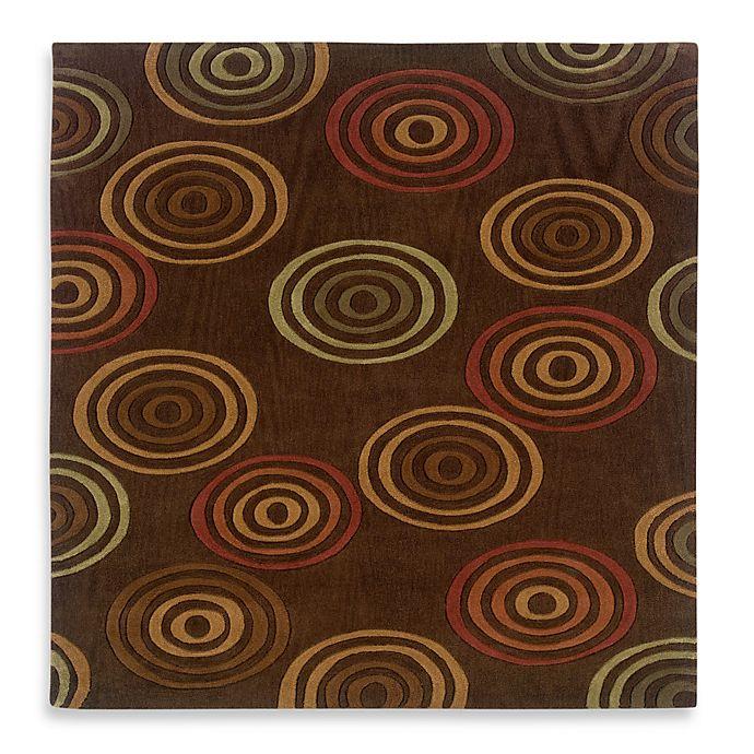 Alternate image 1 for Linon HomeTrio Concentric Rug