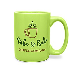 Wake & Bake Mug in Light Green