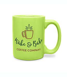 Wake & Bake Taza en verde claro