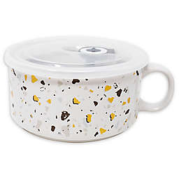 Boston Warehouse® Terrazo Soup Mug with Lid