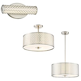 George Kovacs® Dots LED Light Fixtures in Brushed Nickel