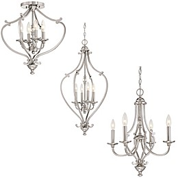 Minka-Lavery® Savannah Row Chandelier Collection in Brushed Nickel