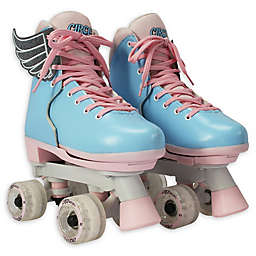 Circle Society Size 12-3 Adjustable Roller Skates in Cotton Candy